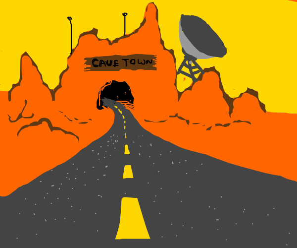 road to cavetown