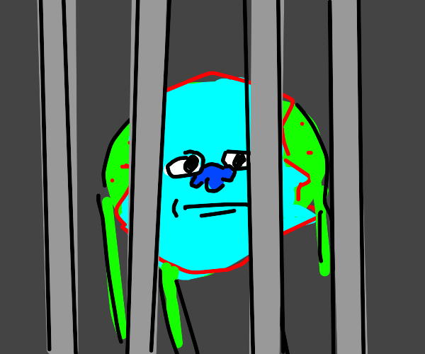 mike wazowski in jail for murdering sully