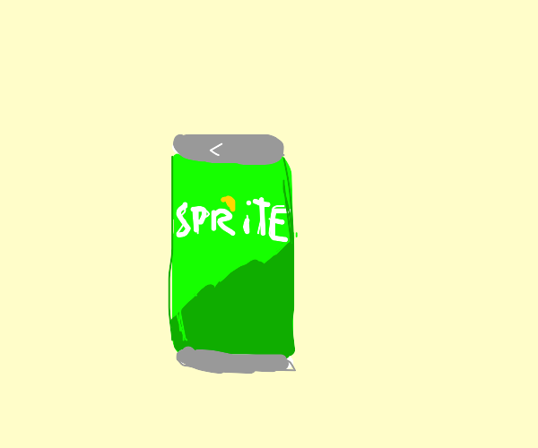 A can of Sprite