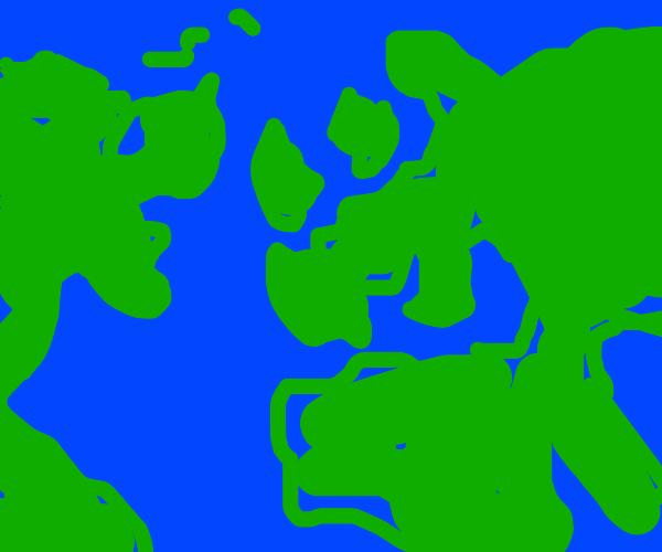 north America and Eroupe