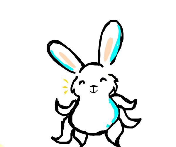 Half rabbit half squid