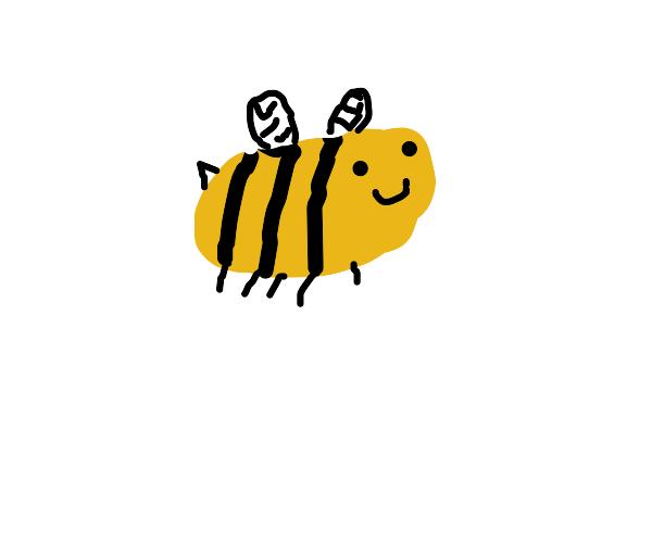 bee with danthy little legz