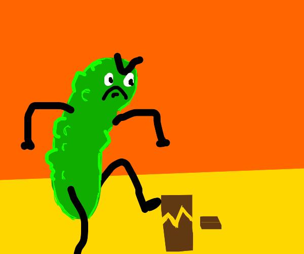 pickle be smashing sign