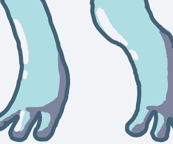 Frog legs (Profile baner panel?)