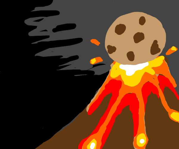 Super cookie stops volcano