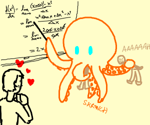 wow i love man-eating octopus mathematicians
