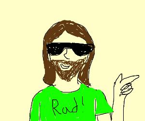 chill dude Jesus