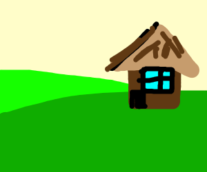 House in the plains