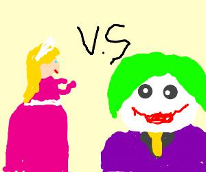 Peach vs Joker