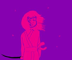purple samurai