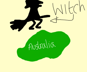 the witches are invading Australia