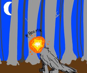 wolfs head explodes