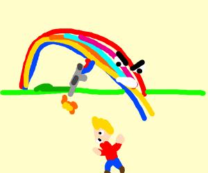 rainbow goes berserk, starts killing people