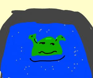 skreck in a hot tub