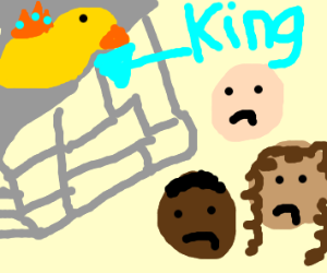 king duck think you are pathetic