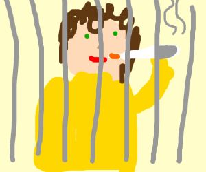 Arrested for smoking a joint