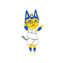 Purr-aoh (pharaoh) kitty