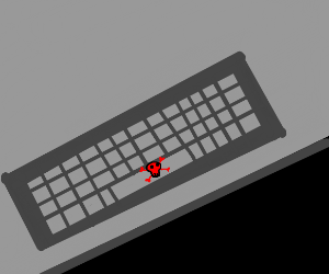 Press space bar to instantly die