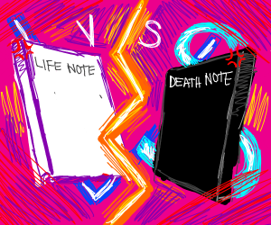 Life Note vs Death Note