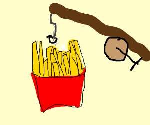 Fishing for Fries