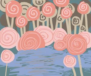 lollipop forest