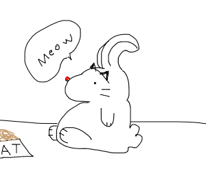 uhhh.... meow?
