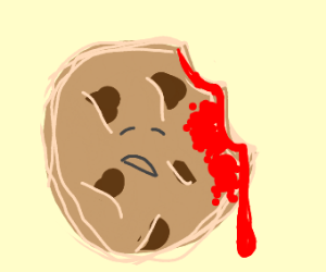 Bloody cookie