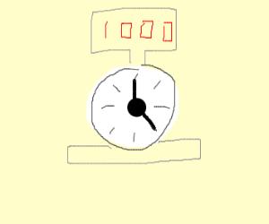 heavy clock