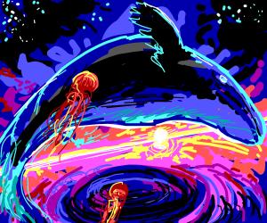 Sea Creatures in Space