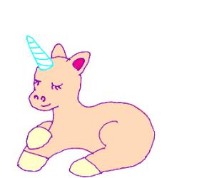 Hairless unicorn