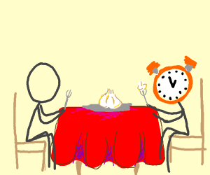 Eating Garlic with an Alarm Clock