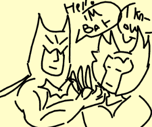 Batman meet wolverine
