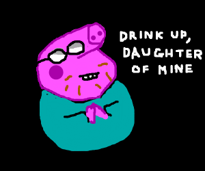Peppa pig gets poisoned by Daddy pig
