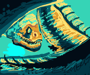 The living t-rex