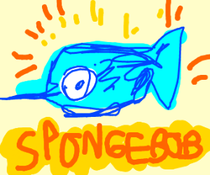 The Swordfish in the Spongebob Intro