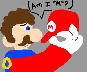 Mario gets amnesia