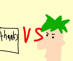 Ferb  vs thanks