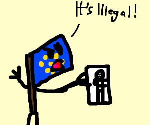 Wait, that's illegal meme