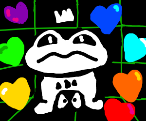 frog king has all undertale souls