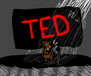 Bear gives a TED talk