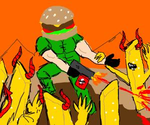 iconic hamburger