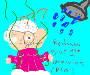 Redraw your first drawing