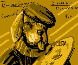 DoodleSquad's 2 year draversary PIO