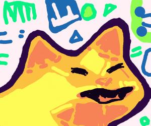 Coupari's cat, only creepier