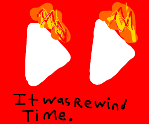 youtube rewind on fire