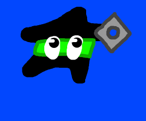 ninja starfish
