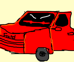 angry truck