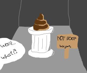 Brown thing aren't poop