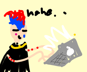 Hisoka breaks the one rule Drawception has