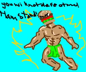 Hamburger As A JoJo Stand